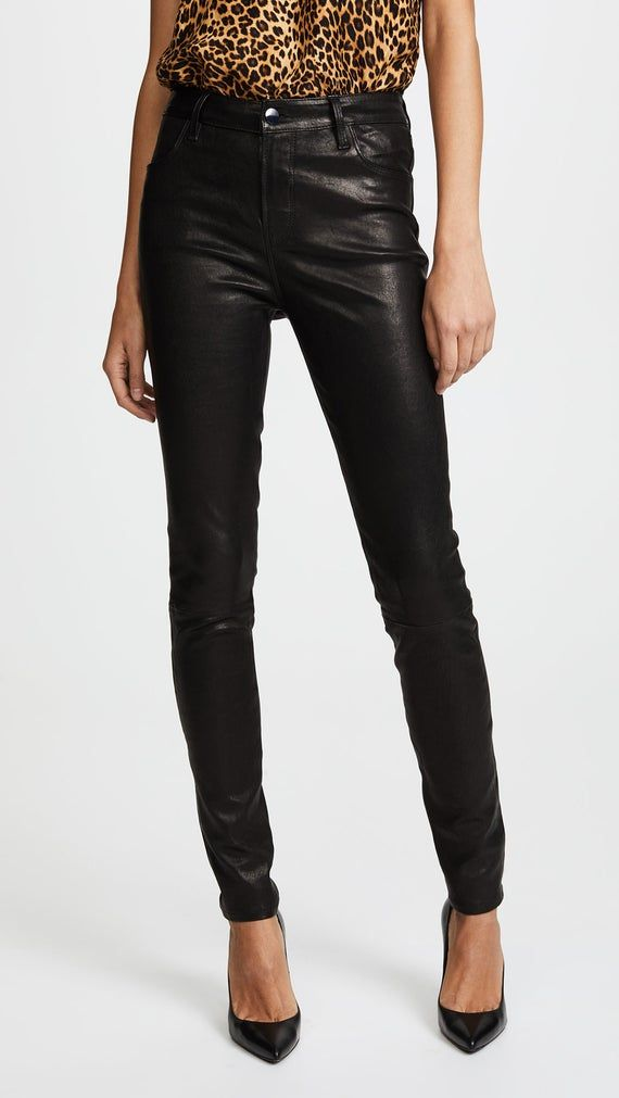 Women/& Girls100/%Genuine Lambskin Leather Stretch able Skinny Fit Jean Style pant