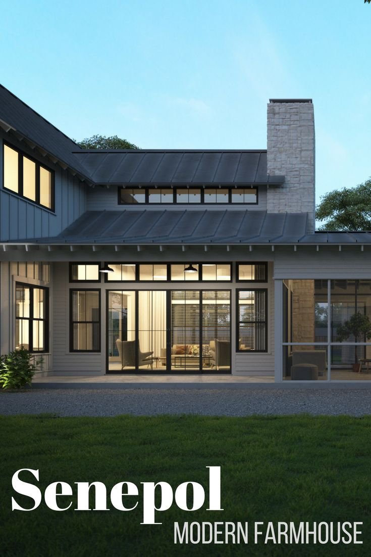 Gorgeous Modern Farmhouse floor plan shiplap