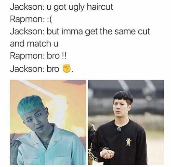 Savior II Jackmon | Anything BTS with words | Bts, Bts memes