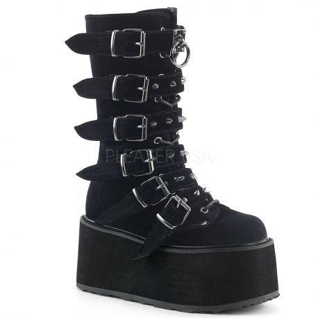 http://www.lenceriamericana.com/calzado-sexy-de-plataforma/40134-botas-goticas-de-plataforma-continua-demonia-terciopelo-nobuk-y-6-correas.html