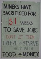 Miners Strike 1984-1985 poster