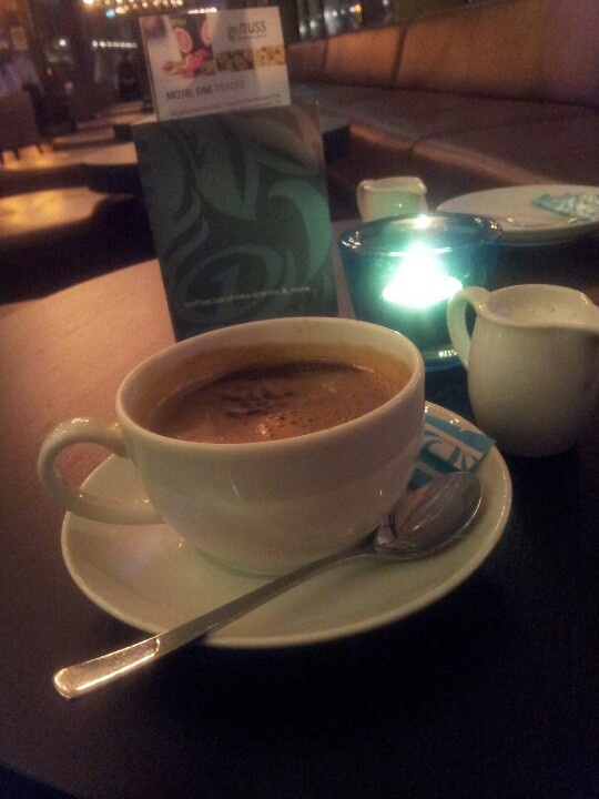 Loungekaffee im Motel One