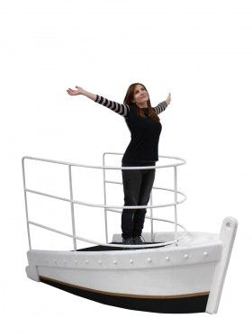 Event Prop Hire: 3D Cruise Ship front                                                                                                                                                     More