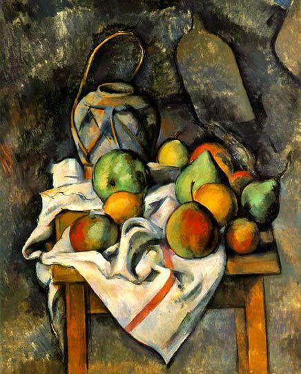 bodegon-frutas- PAUL CEZANE