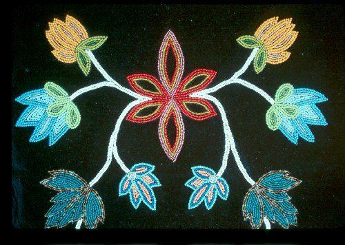 ojibwe beadwork patterns   ojibwe beadwork