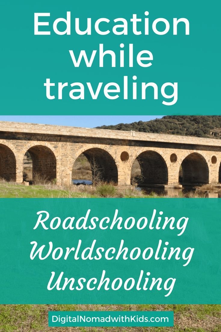 Want to know everything about roadschooling? Here you find an extensive guide on homeschooling, worldschooling and unschooling.