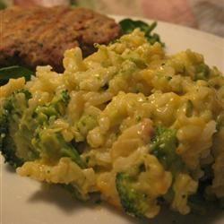 Broccoli Rice Casserole Allrecipes.com