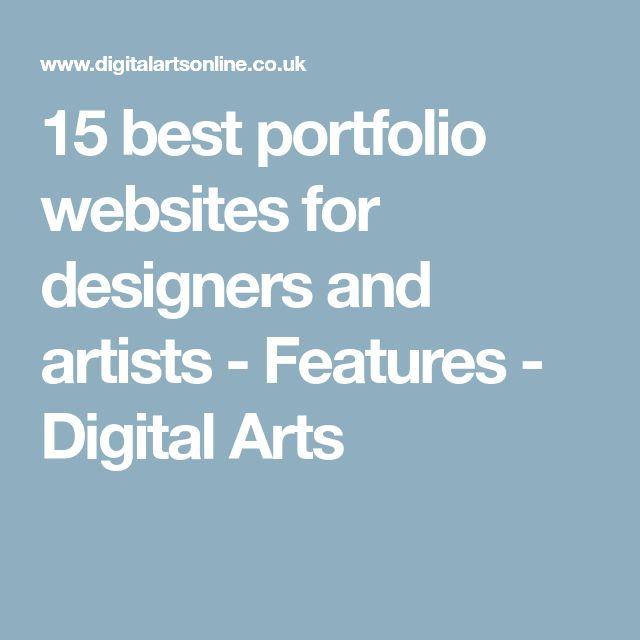 15 best portfolio websites for designers and artists - Features - Digital Arts
