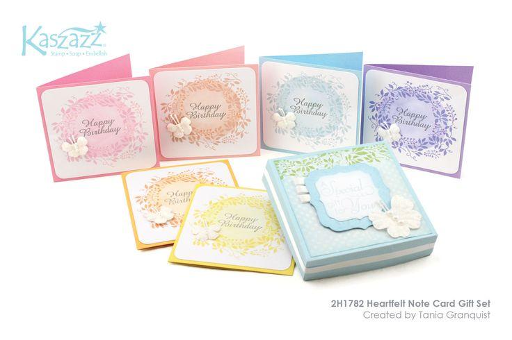 2H1782 Heartfelt Note Card Gift Set