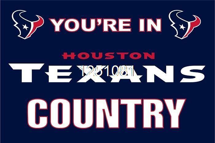 Ты В Техасцы страна Флаг 3ft x 5ft Полиэстер НФЛ Хьюстон Техасцы Баннер Летающий Размер № 4 144*96 см QingQing Флаг