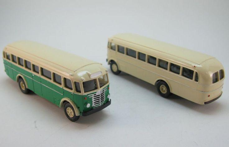 Ikarus 602 Überlandbus Intercity-Bus 1956 DDR UdSSR - 1:87 HO