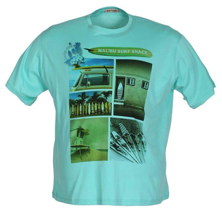 T-Shirt Uomo Taglie Grandi - Euro 31.41   Impatto Abbigliamento