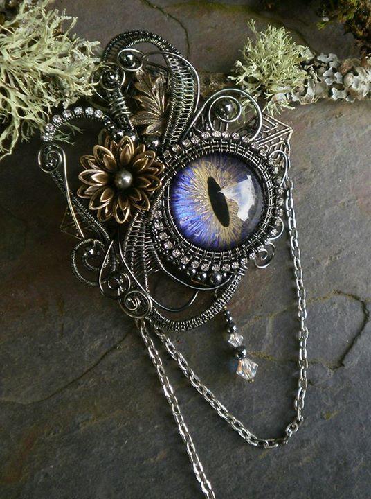 Twisted Sister Arts #Steampunk #Jewelry  www.steampunktendencies.com