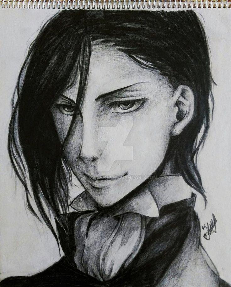 Sebastian Michaelis - Relistic Drawing by artmaker77.deviantart.com on @DeviantArt