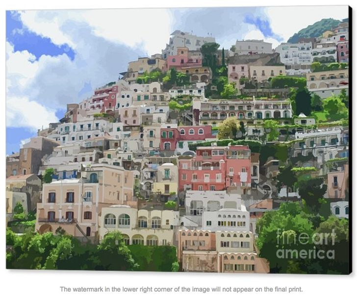 The Amalfi Coast is a 50-kilometer stretch of coastline along the southern edge of Italy's Sorrentine Peninsula, in the Campania region. It's a popular holiday destination, with sheer cliffs and a rugged shoreline dotted with small beaches, pastel-colored fishing villages and restaurants!