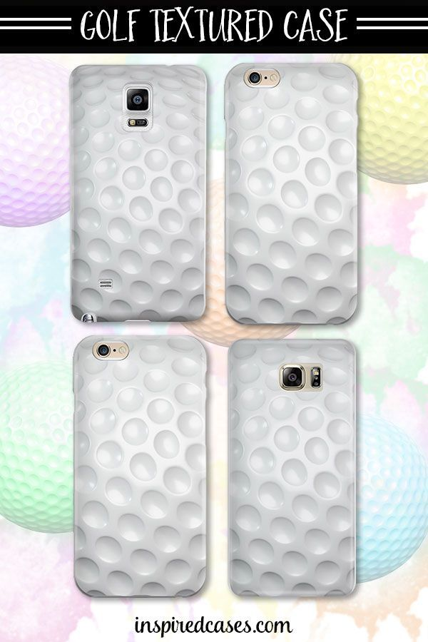 The perfect cell phone case for all the avid golfers out there.  On sale now for only $15! #golf #fore