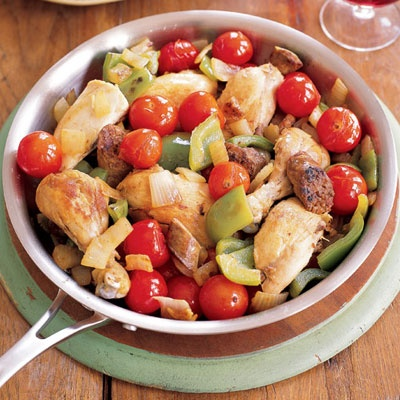 This is a great single skillet recipe! Easy and good! ;)
