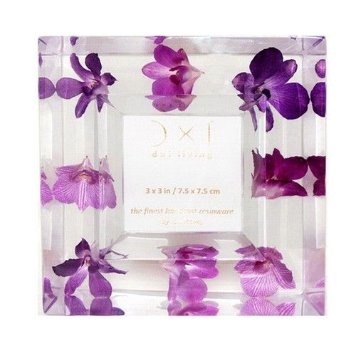 www.BeUnique.sk - Jewel Orchid Bouquet Photo Frame