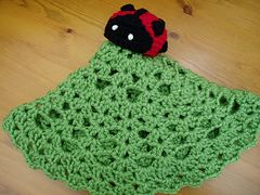 Ravelry: Ladybird Baby Security Blanket Lovey Comforter Blankie Ladybug Toy Easy Crochet Pattern pattern by Peach. Unicorn