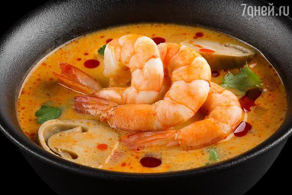 Тайский суп «Том Ям»: рецепт от шеф-повара Сергея Николаева