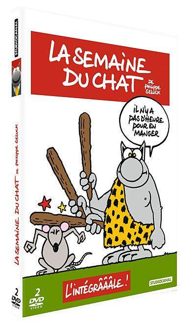 La semaine du Chat (Philippe Geluck), l'intégrale 2dvd