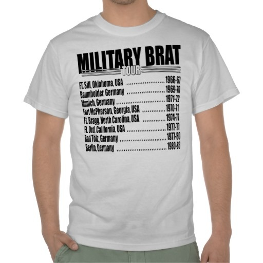 military brat Military brats inc non-profit organization promotes the culture and history of those who grew up military we also have projects that support our troops.