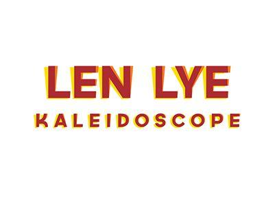 "Check out new work on my @Behance portfolio: ""Len Lye: Kaleidoscope exhibition branding"" http://be.net/gallery/32763493/Len-Lye-Kaleidoscope-exhibition-branding"