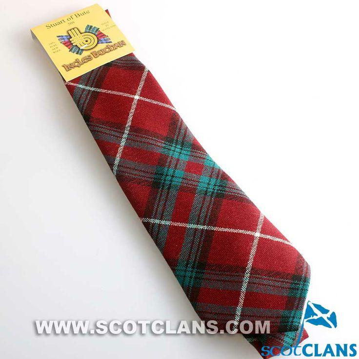 Clan Stuart of Bute Tartan Tie
