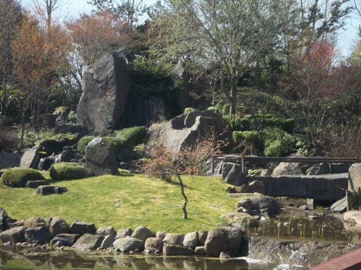 A Japanese Garden in Aarhus, Denmark - April 2014