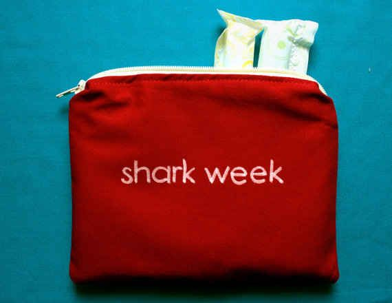 Monthly Shark Week, anyone? | 17 Things That Prove Having Your Period Is Actually Hilarious