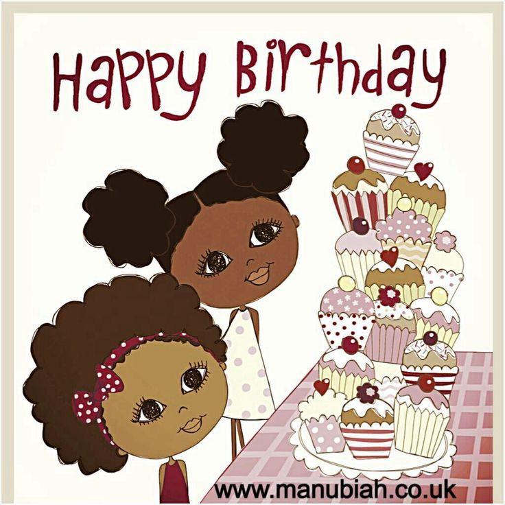 Happy Birthday Niece Images African American ~ Best images about ma nubiah greeting cards