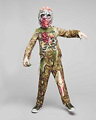 Underwater Zombie Boy Costume