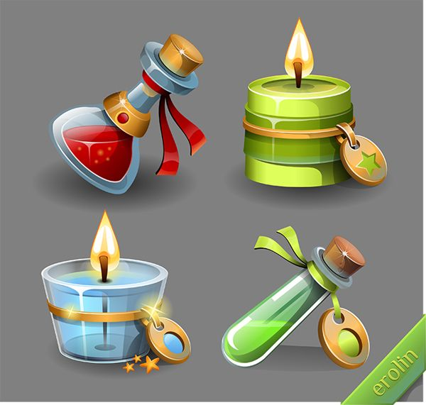 games Candy Kingdom by Olga Petrova, via Behance
