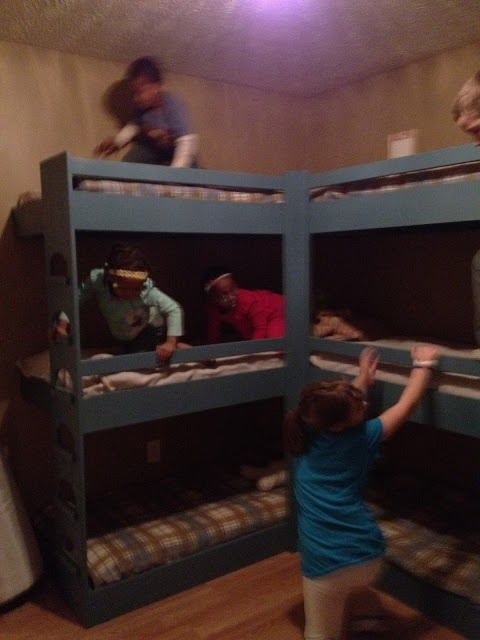 56 Best Images About Bunk Bed On Pinterest Built In