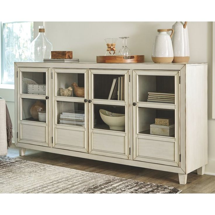 Dining Room Essentials Wide Sideboard, Dining Room Buffet Cabinet