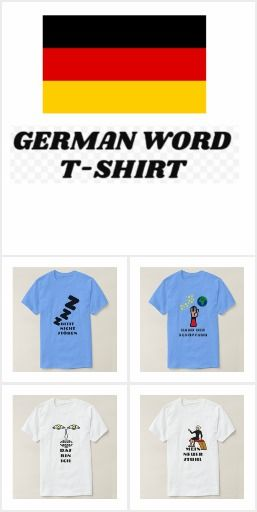 German Word T-Shirt