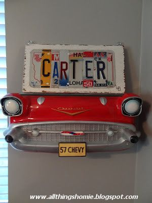 All Things Homie: Carter's Vintage Chevy Nursery Reveal! If our next is a boy!