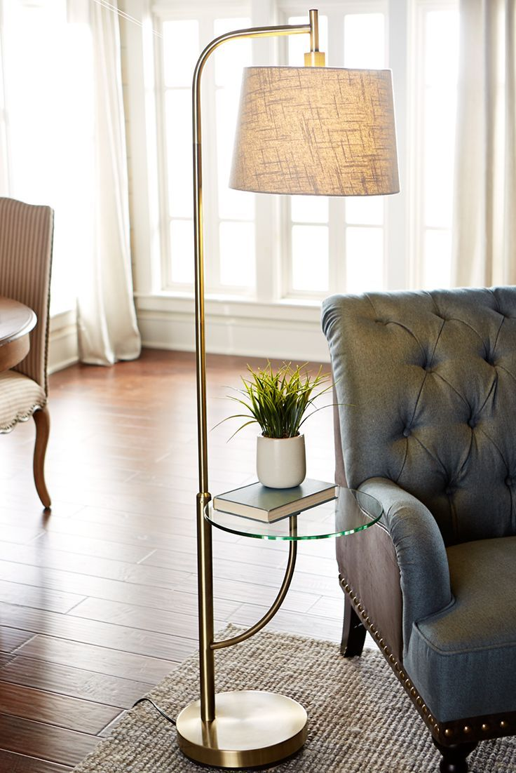 Form elegantly meets function with Pier 1's Travis Tray Floor Lamp. From enjoying your favorite book and a cup of coffee to finding the perfect place to rest your tissues and tea when you're sick, our floor lamp has everything you need in one sleek and stylish space.