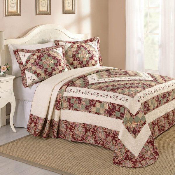 Peking Handicraft Mary Lu Cotton Bedspread (Shams Not Included)