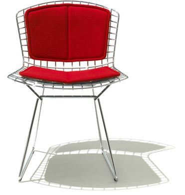 Knoll Bertoia Side Chair with Seat and Back Cushion. | On sale