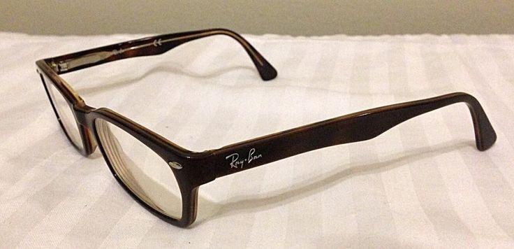 Ray-Ban Eyeglasses Frames Brown + Case Nerd Geek Glasses Preppy
