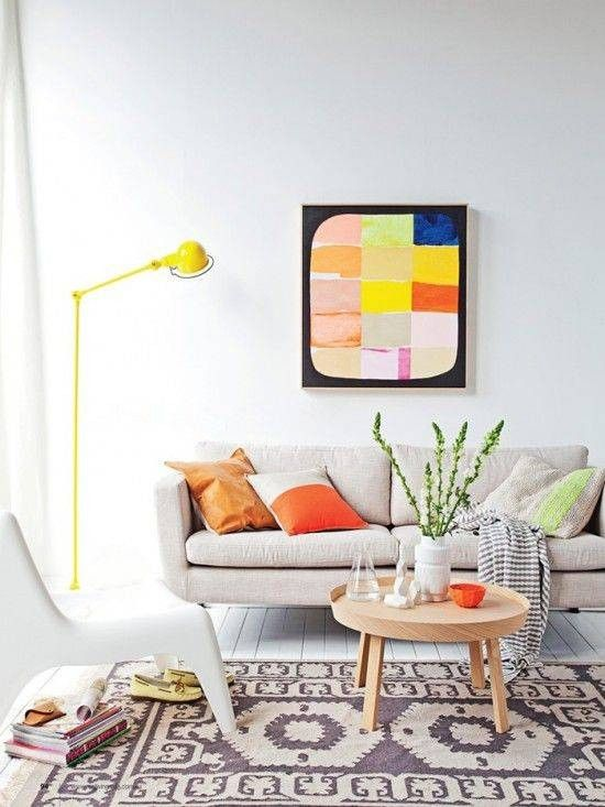 Feng Shui Living Room Decorating Tips colorful living area