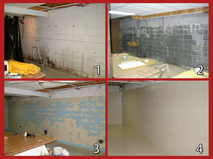 basement waterproofing system creating solution in 4 easy to follow do