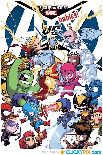 Skottie Young Kid Superheroes (baby variants)