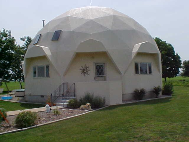 108 best Geodesic Dome Homes images on Pinterest Dome house