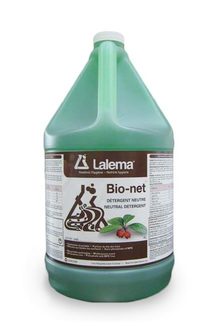 Neutral Cleaner BIO-NET: Wintergreen-scented neutral cleaner