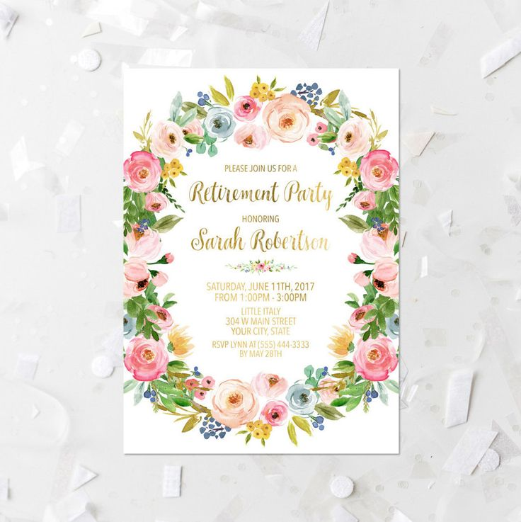 The  Best Farewell Party Invitations Ideas On