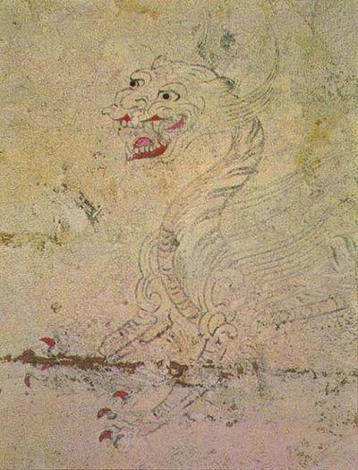 高松塚古墳 - 白虎