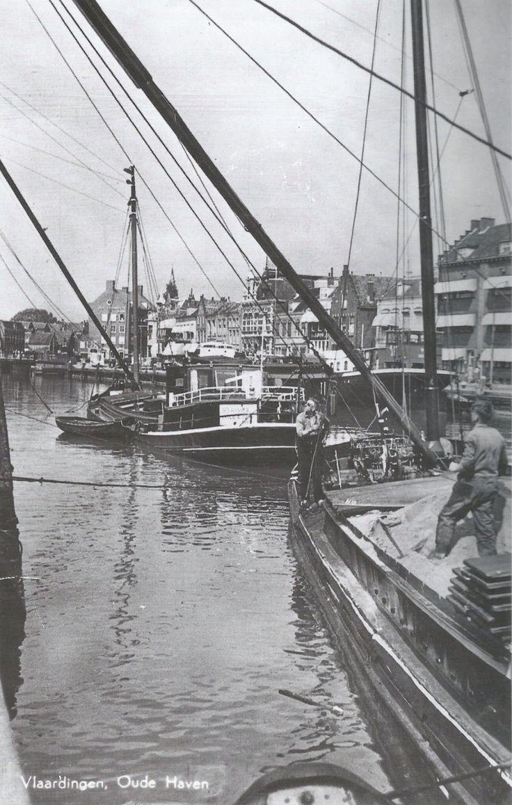Oude haven Vlaardingen