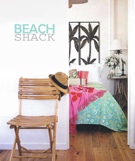 My kind of beach house, 1950s aussie shack, renovated of course!